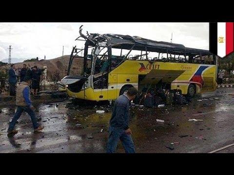 Sinai tourist bus blast: 4 killed, 24 injured