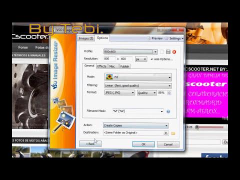 Como cambiar tamaño de imagen con VSO Image Resizer