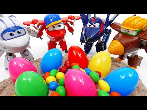Super Wings 2, Feed a Hungry Crocodile & Open Surprise Eggs