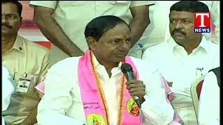 CM KCR Promises Housing Plots for Journalists | Telangana   Telugu