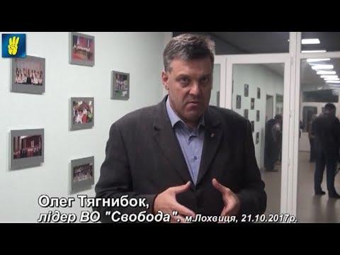 """Олег Тягнибок про актуальне в інтерв'ю телекомпанії """"Астра TV"""" (Лохвиця)"""