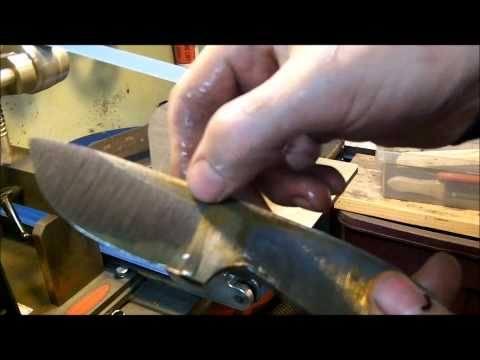 Knife Making Tutorial- How to FLAT GRIND A Knife (30 min Tutorial) Music Videos