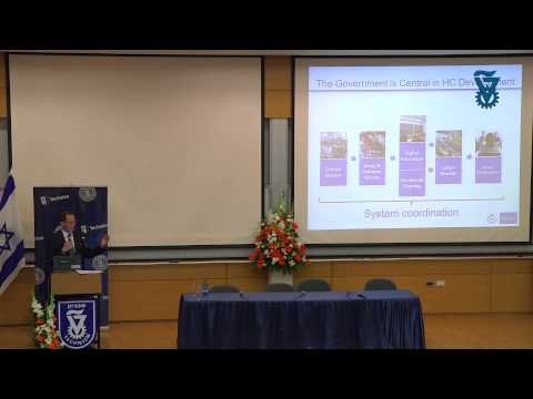 The Innovation Ecosystem - Eugene Kandel Head Israel Economic Council - Technion lecture