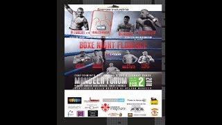 Boxe Night Florence - Titolo Italiano Mediomassimi + Titolo Int. WBC Cruiser