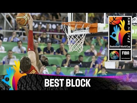 Brazil v Spain - Best Block - 2014 FIBA Basketball World Cup