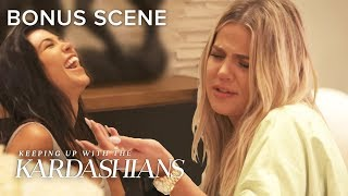 Khloé & Kourtney Drunkenly Tell How They Gave Kendall Their Sloppy Seconds | KUWTK Bonus Scene | E!
