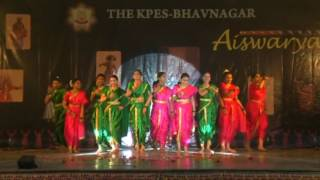 Best Group dance (2016) K.P.E.S. Collage Bhavnagar Marathi Lavani choreography by James sir