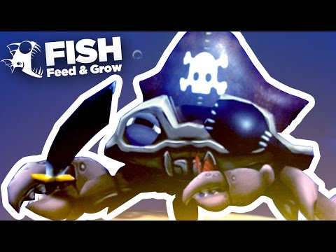 NEW Pirate Crab!!! - Feed And Grow | Ep6