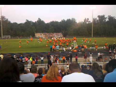 Manchester high school marching band 2012 opener