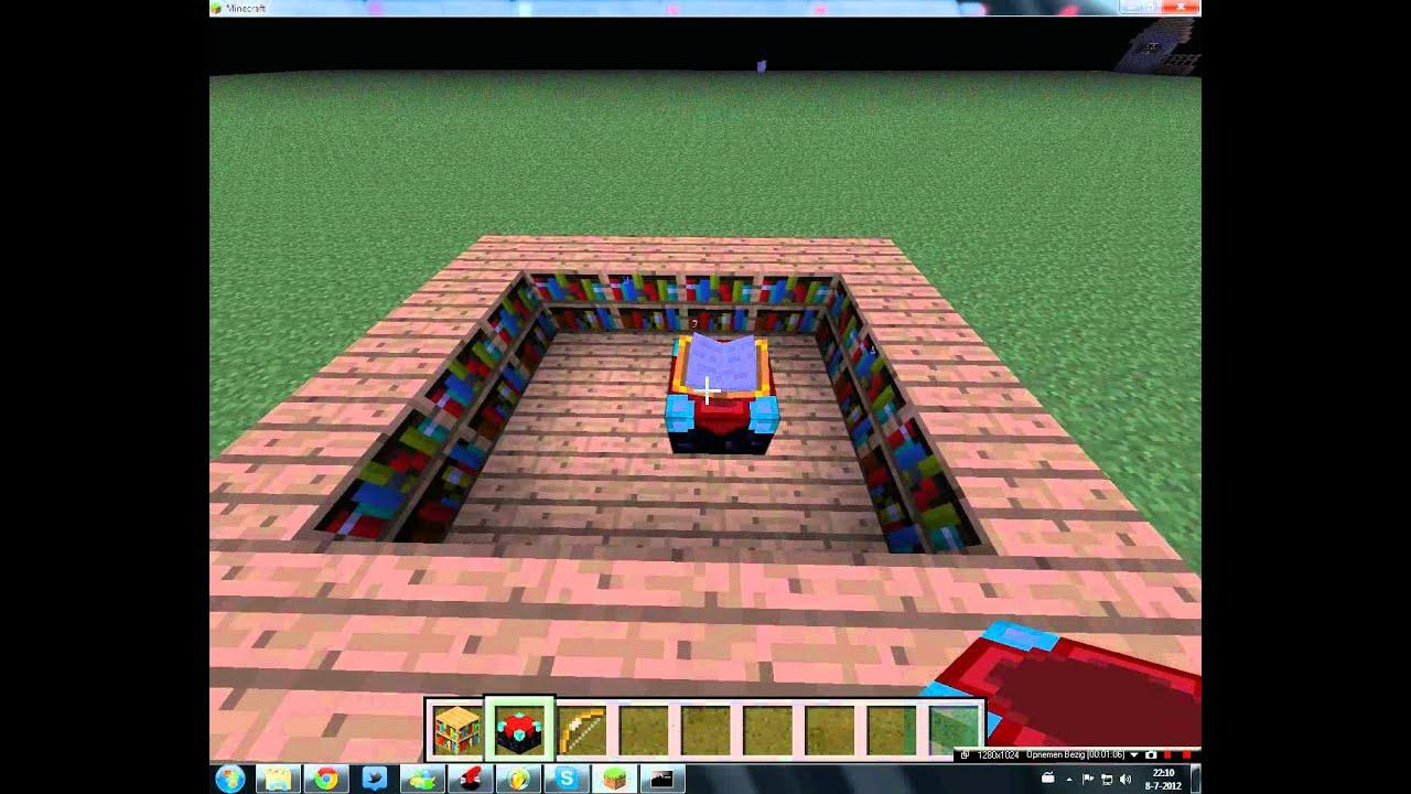 Kleine tutorial hoe maak je een enchanting table dutchminecrafters35 youtube - Hoe sluit je een pergola ...