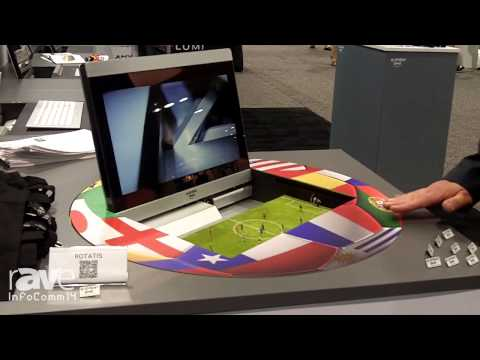 InfoComm 2014: Element One Explains the Rotatis Model Display