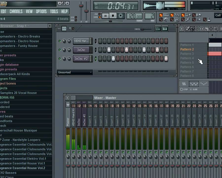 how to make a house beat in fl studio