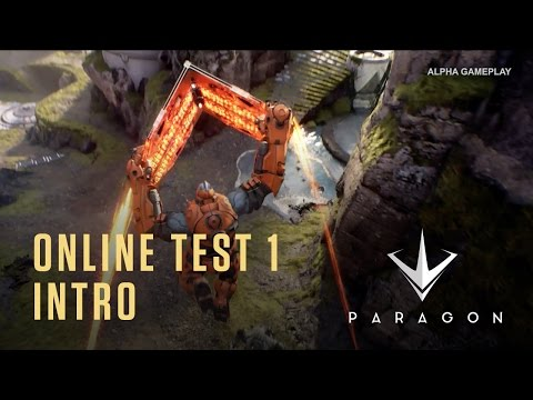 Paragon - Intro And Tutorial For Alpha Testers - Online Test 1