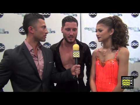 Dancing with the Stars - Zendaya & Val Chmerkovskiy AfterBuzz TV Interview April 29th, 2013