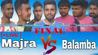 Majra Vs Balamba Final Match At Daboda Kalan ( MAHANDIPUR ) Football Cup ,  HARYANA SPORTS LIVE