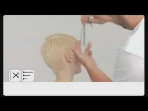 Видеоурок короткая женская стрижка - видео