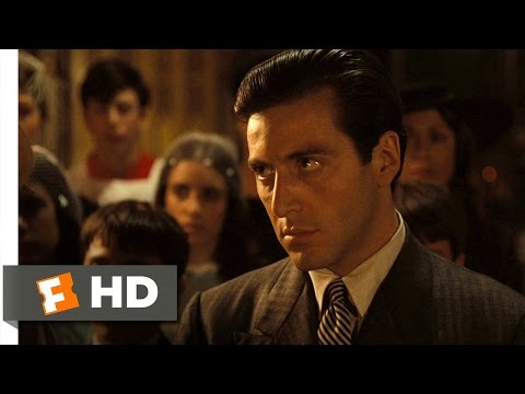 The Baptism Murders - The Godfather (8/9) Movie CLIP (1972) HD