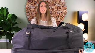 BEST large suitcase of 2019: Thule Crossover 87L Rolling Duffel Review