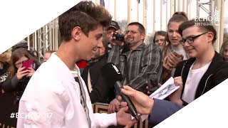 ECHO 2017: Lukas Rieger | Red Carpet-Interview