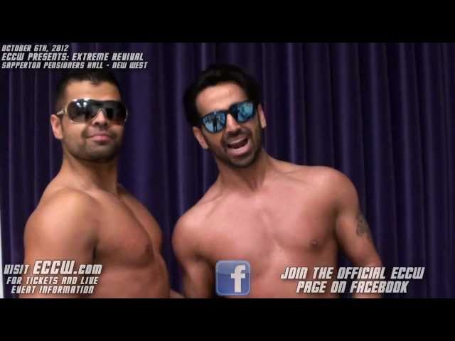 ECCW - The Bollywood Boyz and The Stallions Discuss Upcoming Events