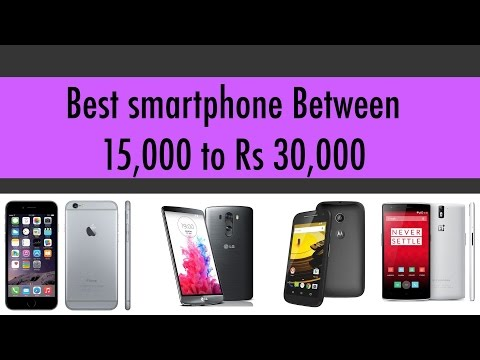 Best Smartphone in India Between 15000 and 30000: March 2015