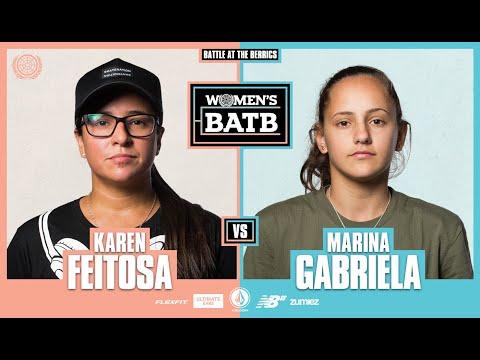 WBATB | Karen Feitosa vs. Marina Gabriela - Round 1