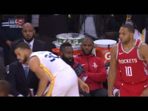 Stephen Curry Talking Trash To James Harden After Hits A Dagger!