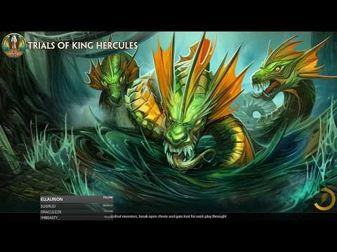 Smite - Trials Of King Hercules new PvE gamemode!