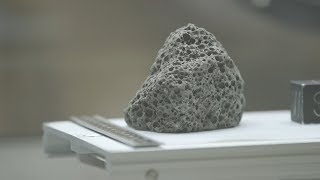 NASA opens a new collection of moon rocks to researchers