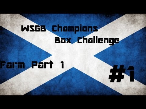 Today we start a new series where Ross, Shaun and Sean fight it out in Zombie challenges to see who will be the WSGB Champion! Today we play the box challenge on Farm. Please like and subscribe,...