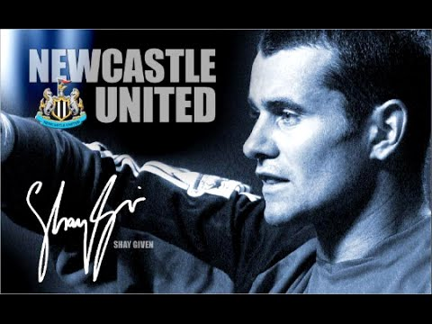 Shay Given - Showing Off For The Cameras - Newcastle United Legend