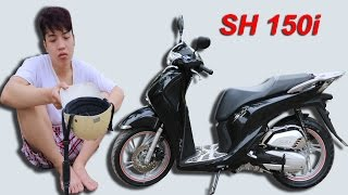 NTN - Đi Ăn Xin Mua Siêu Xe (Go begging for money to buy the honda sh 150i 2017)