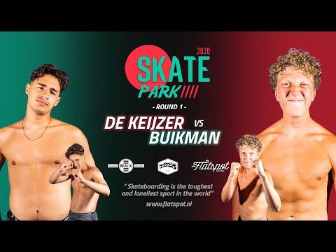 Game of SKATEpark 2020 - Game #16 FINALS - Bart Buikman vs Jay de Keijzer