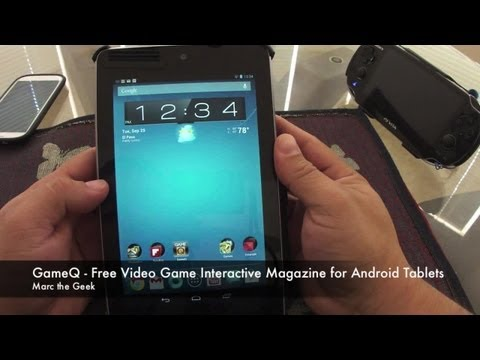 GameQ - Free Video Game Interactive Magazine for Android Tablets