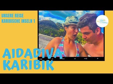 AIDAdiva Karibische Inseln: AIDA Karibik Kreuzfahrt Reisevideo (AIDAperla)