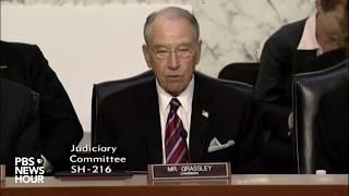 WATCH: Sen. Judiciary Cmte. hears testimony about IG report on FBI, DOJ and email probe