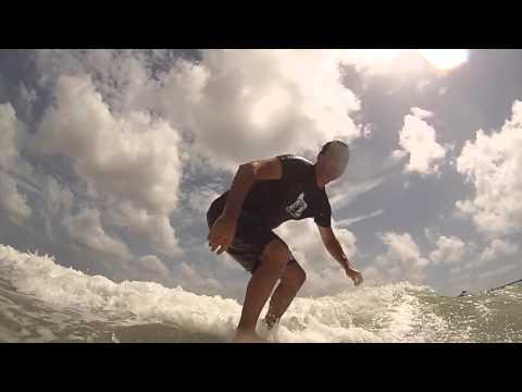 surfing Deerfield Beach