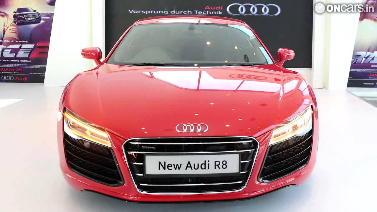 2013 Audi R8 Facelift Launched In India At Rs 1 34 Crore