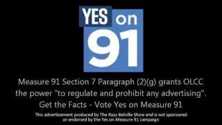 The No on Measure 91 Campaign Head Lies About Marijuana Advertising