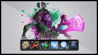 Dota 2 Mods | POISON TOUCH PERMA STUN!! | Baumi plays Legends of Dota Redux