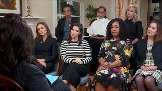 Oprah Winfrey speaks with