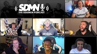 KSI vs Logan Paul, AnesonGib vs Jake Paul - SIDEMEN PODCAST