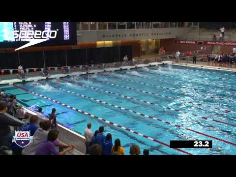 Men&#039;s 100m Freestyle A Final - 2012 Columbus Grand Prix