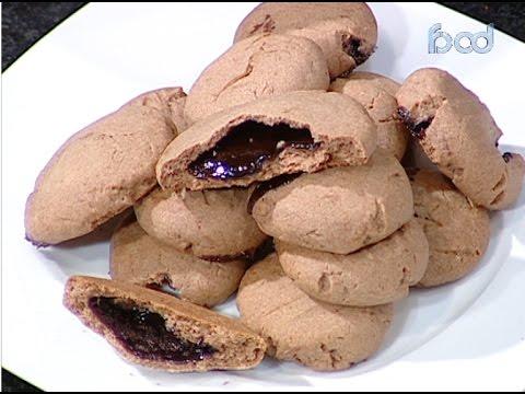كوكيز محشي شوكولاته على طريقة الشيف #وحيد_كمال  من برنامج #الفطاطرى #فوود