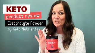 Key Nutrients Electrolyte Powder Review (A Keto Product Review)