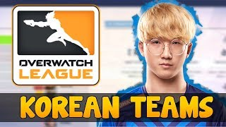 The Korean Teams ISSUE In Overwatch League ( New York Excelsior / London Spitfire )