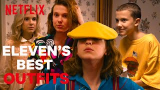 Eleven's Best Outfits | Stranger Things