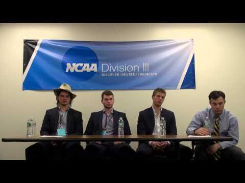 Trinity Men's Hockey Press Conference: 2015 NCAA Tournament