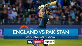 Bairstow hits a century! | England vs Pakistan: 3rd ODI | Highlights