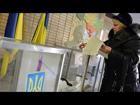 Ukrainians Vote in Parliamentary Elections